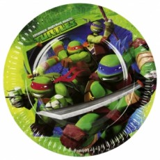 Paptallerkner-teenage-mutant-ninja-turtles