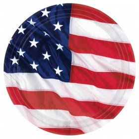 Stars and Stripes -USA Paptallerkner